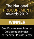 Best Procurement Internal Collaboration Project of the Year - Private Sector