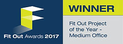 Fit Out Project of the Year - Medium Office winner logo