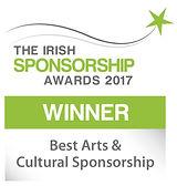 Best Arts & Cultural Sponsorship winner logo
