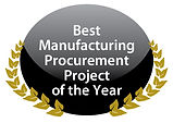 Best Manufacturing Procurement Project of the Year