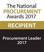 Procurement Leader 2017 winner logo