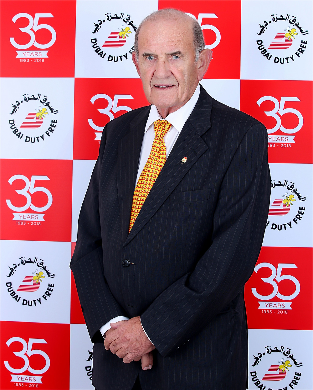 Colm McLoughlin, Executive Vice Chairman & CEO of Dubai Duty Free