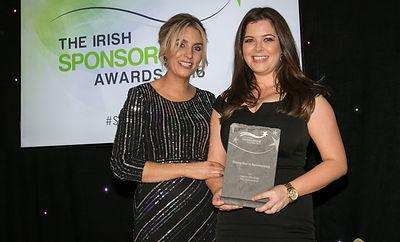 Joanne O'Sullivan - PSG Sponsorship - Irish Sponsorship Awards winners 2016