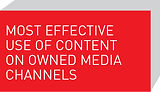 Most Effective Use of Content on Owned Media Channels