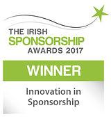 Innovation in Sponsorship winner logo