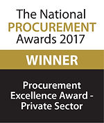 Procurement Excellence Award - Private Sector 2017 winner logo