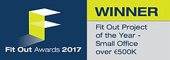 Fit Out Project of the Year - Small Office over €500K winner logo
