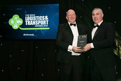John Tuohy - Irish Logistics & Transport Awards 2018