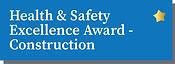 Health & Safety Excellence Award - Construction