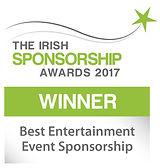 Best Entertainment Event Sponsorship winner logo