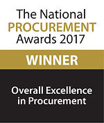 Overall Excellence in Procurement 2017 winner logo