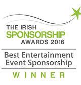 Best Entertainment Event Sponsorship 2016 winner logo