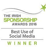 Best Use of Social Media 2016 winner logo
