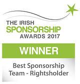 Best Sponsorship Team - Rightsholder winner logo