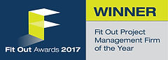 Fit Out Project Management Firm of the Year 2017 winner logo