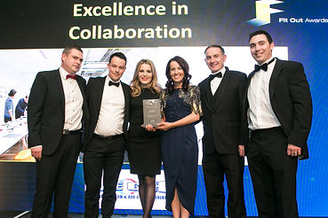 Priority Collaboration Service - Specialist Joinery Group Dublin - Fit Out Awards 2017 winner