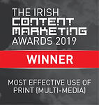 Most Effective Use of Print (Multi-Media)
