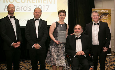 Rapid Delivery Housing - OGP, DHPLG, LGMA & Greater Dublin Local Authorities - National Procurement Awards 2017 winner