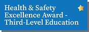 Health & Safety Excellence Award - Third-Level Education