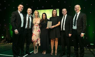 HEINEKEN Ireland Rugby Club with Off The Ball - Irish Sponsorship Awards winners 2017