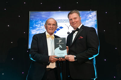 Colm McLoughlin, Dubai Duty Free - Aviation Industry Awards 2019 recipient