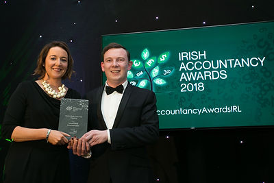 Larissa Feeney - Irish Accountancy Awards 2018 winners