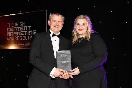 ProfileTree - 2019 Irish Content Marketing Awards winner