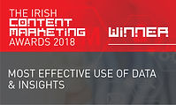 Most Effective Use of Data & Insights 2018