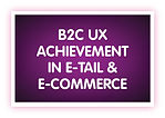 17. B2C UX Achievement in E-tail & e-Com