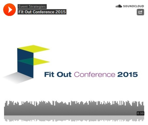 Fit Out Conference Advert