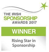 Rising Star in Sponsorship winner logo