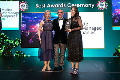 Deloitte Best Managed Companies Awards 2019 - 2019 Event Industry Awards winner