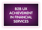 5. B2B UX Achievement in Financial Servi