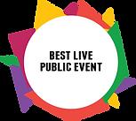 Best Live Public Event