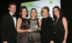 Three for Focus Ireland & IRFU 'Let's Tackle Homelessness'- Sponsorship Awards winners 2016