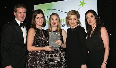 Three for Focus Ireland & IRFU 'Let's Tackle Homelessness'- Sponsorship Awards winners 2016