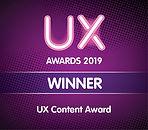 UX Content Award
