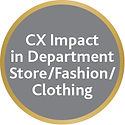 CX Impact in Department Store/Fashion/Clothing