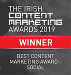 Best Content Marketing Award - Social