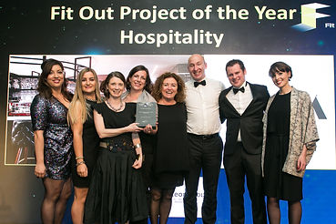 Red Cow Moran Hotel - Fit Out Awards 2017 winners