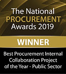 Best Procurement Internal Collaboration Project of the Year - Public Sector