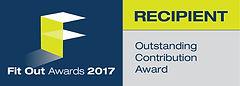 Outstanding Contribution 2017 winner logo