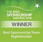 Best Sponsorship Team – Rightsholder