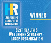 Best Health & Wellbeing Strategy - Large Organisation