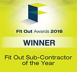 Fit Out Sub-Contractor of the Year
