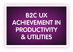 14. B2C UX Achievement in Productivity &