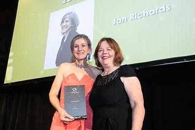 Jan Richards - 2019 The Irish CX Impact Awards recipient
