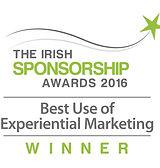 Best Use of Experiential Marketing 2016 winner logo