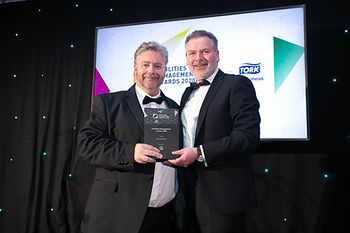 Pat O'Sullivan - 2020 Facilities Management Awards recipient