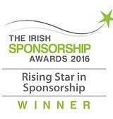 Rising Star in Sponsorship 2016 winner logo